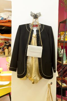"1980 - VALENTINO ""NIGHT"", veste doublée en lurex doré, collection privée © Solo-Mâtine, photo: Alexey Melnikov"