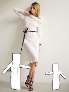 Solo in White: 13 Contemporary Designs – Sewing Blog | http://BurdaStyle.com