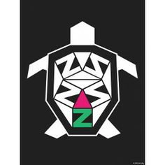 Have some fun with the cute and trendy Delta Zeta Turtle Print. The #DZ turtle will add some pizazz to  your space and dress up your wall. #dormify #greek http://www.dormify.com/greek/delta-zeta/delta-zeta-turtle-print