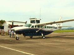 Viagens a partir de Pouso Alegre serão feitas em aviões Cessna, com capacidade para nove passageiros (Foto: Reprodução EPTV) _ de Pouso Alegre para Belo Horizonte com escala em Lavras. A viagem terá duração de 40 minutos.