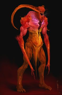 Demon Concept Art - Character design made by Jose Garcia (Garciar)