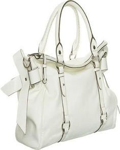 Stylish White Handbags 2013
