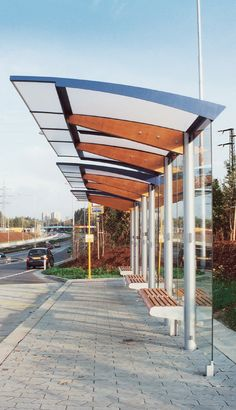 Environmental Street Furniture: Regio passenger waiting shelter 1 of 9