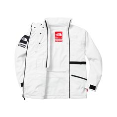 Supreme Supreme  The North Face Steep Tech Hooded Jacket (1.335 BRL) ❤  liked on Polyvore featuring the north face 39dffec2d