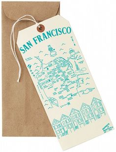 Maptote - San Francisco Mapnote