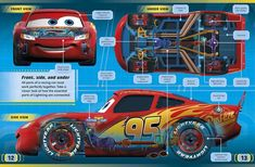 Finely made auto parts graceful, classic. Disney Cars Movie, Disney Cars Party, Car Party, Disney Cars Wallpaper, Kids Cartoon Characters, Lightning Mcqueen, Batmobile, Car Wallpapers, Baby Disney