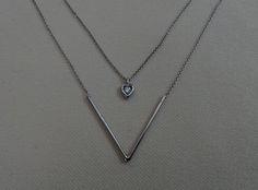diamond pendant, pendant, gold, pırlanta kolye, tasarım, kalp kolye