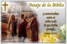 Vidas Santas: Santo Evangelio según san Lucas 24:14