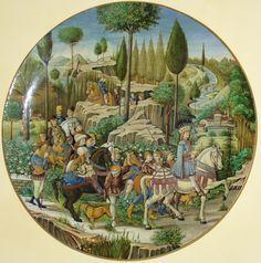 cantagalli (pottery, ceramics, maiolica, majolica) - Google Search