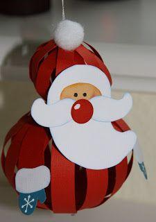 Creativ ciotki: Boże Narodzenie kulki papieru
