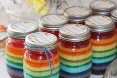 fun rainbow party favors