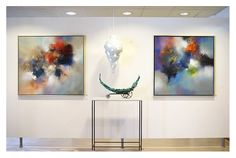 Eelco Maan I lyrical abstract paintings I Galerie Sille I Oudewater / 2015