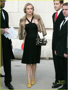 Diane Kruger @ Paris Fashion Week 2008