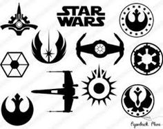 Image result for star wars silhouette