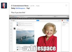 8 Great Uses For Google+'s New White Space [PICS]