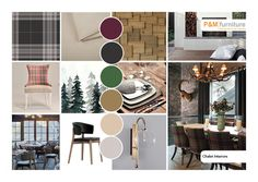 #chaletinterior Home Design, Interior Design, Chalet Interior, Design Styles, Mood, Fashion Design, Furniture, Chalets, Paint Palettes