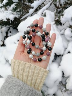 Your place to buy and sell all things handmade Healing Bracelets, Gemstone Bracelets, Gemstone Beads, Stacking Bracelets, Crystal Jewelry, Crystal Beads, Aromatherapy Jewelry, Crystals And Gemstones, Gifts For Mom