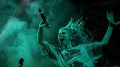 Grimes@ FYF Fest,August 23, 2014. Los Angeles, CaliforniaPhoto byJay L. Clendenin.
