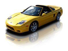 2004 Acura NSX-T 3.2 Liter VTEC 6 Speed - yellow car