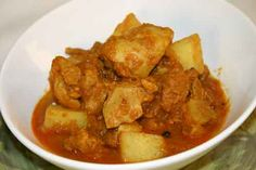 Chicken Vindaloo -one of my daughter's favorites... especially when it's extra spicy.