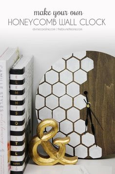 Warm Wood and White Honeycomb Combo