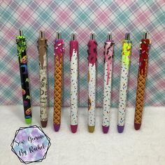 Donut Icing, Free Pen, Custom Pens, Diy Resin Crafts, Witches Brew, Glitter Gel, Tumbler Cups, Custom Tumblers, Crafty Projects