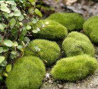 Foam fake moss stone Figurine for DIY Micro Landscape decorate Creative Desktop Ornaments