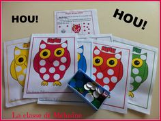 La course des hiboux Card Games For Kids, Art For Kids, Activities For Kids, Chris Haughton, Petite Section, Owl Crafts, Mamas And Papas, Too Cool For School, Bird