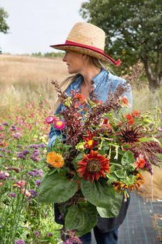 Det her er den nye blomster-trend Nye, Henna, Holland, Cowboy Hats, Mexican, Garden Ideas, Nature, The Nederlands, Western Hats