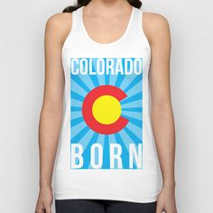 Colorado Born Tank Top found out Society6.com #COLORADO #COLORADOBORN #COLORADOPRIDE #CO #COPRIDE #TANKTOP #MENSCLOTHING #WOMENSCLOTHING #GRAPHICDESIGN #DESIGN