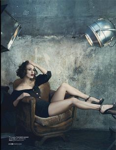 """GQ UK: Keira Knightley for """"Girl, Interpreted"""" by Photographer Norman Jean Roy"""
