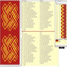 Diseño 40 tarjetas, 3 colores, repite dibujo cada 40 movimientos   // sed_45 ༺❁