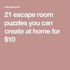 32 escape room puzzles you can create at home for cheap! I love the escape room idea, especially the ciphers Escape Room Diy, Escape Room For Kids, Escape Room Puzzles, Breakout Edu, Breakout Game, Breakout Boxes, Escape The Classroom, Youth Activities, Kid Activites