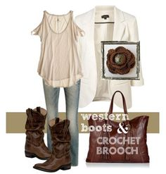 western boots outfit