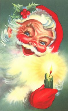 I remember this Santa's face from when I was very small!