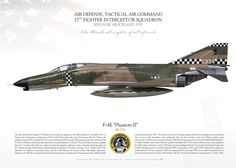 "Fighter Interceptor Squadron ""Black Knights of Keflavik"" Us Military Aircraft, Military Jets, Air Force, Us Navy, Airplane Illustration, F4 Phantom, Aircraft Painting, Aviation Art, Aircraft Carrier"