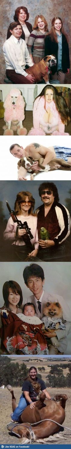 Most Awkward Human Pet Photo's - what were they thinking?