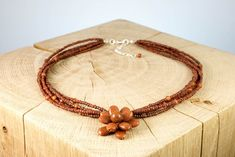 "Halskette ""Flower"" Fair Trade, Beaded Necklace, Jewelry, Fashion, Neck Chain, Schmuck, Beaded Collar, Moda, Jewlery"