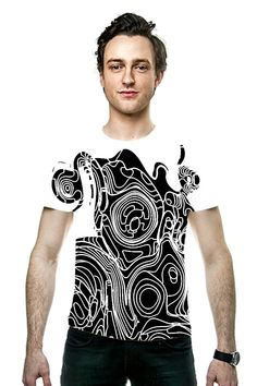 By Miguel Bruzual. All Over Printed Art Fashion T-Shirt by OArtTee