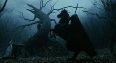 The greatest horror movie monsters usually take root in real world mythology and folklore. Sleepy Hollow Tim Burton, Sleepy Hollow 1999, Legend Of Sleepy Hollow, Johnny Depp, Will O The Wisp, Mystery Theater, Maleficarum, Headless Horseman, Scary Monsters