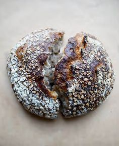 Oat Porridge Bread from Tartine Book No. 3 by Chad Robertson.