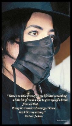 Michael Jackson - Divinity with Mask ღ Jackson Family, Jackson 5, Mj Quotes, Michael Jackson Quotes, King Of Music, Music Heals, American Singers, Record Producer, Actors