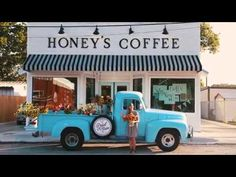 Hometown Feature: Lindy at Honey's Coffee George Bush Intercontinental Airport, Honey Coffee, Ranch, Texas, Outdoor Decor, Home, Guest Ranch, Ad Home, Homes