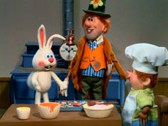 Rankin Bass, the Easter Bunny is coming to Town.