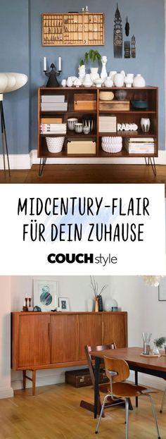 Wohnen Im Mid Century Stil, So Gehtu0027s!