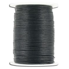 (SKU# Sold per pack of 1 spool(s). Leather Cord, The 100, Packing, Chain, Ebay, Black, Bag Packaging, Black People, Necklaces