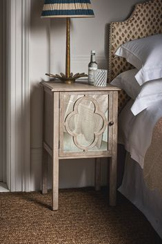 Meet the Avenzzano. Hand-crafted from mango wood and featuring mirrored panelling detail, this bedside table is sure to be your new sidekick. Mirrored Nightstand, Bedside, Interior Styling, Interior Decorating, Interior Inspiration, Design Inspiration, Neutral Bedrooms, Classic House, Luxury Furniture