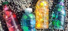 I Spy Bottles for road trips