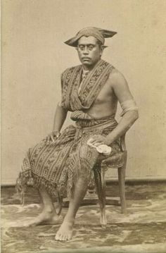 Historical ancient nude photo in indonesia