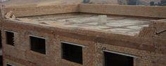 Caida de muro de pretil de cubierta por efecto del viento | La Web de Patología y Diagnóstico en Materiales, Construcción y Arquitectura. Rehabilitación de edificios.
